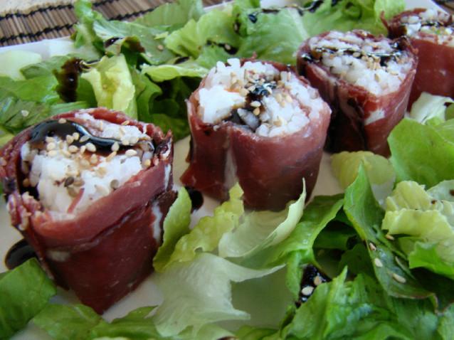 Sushi di bresaola