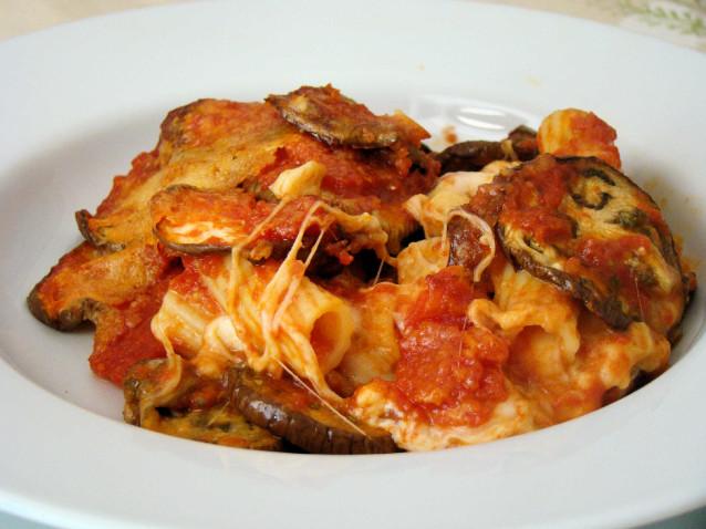 Ricetta dietetica pasta con melanzane