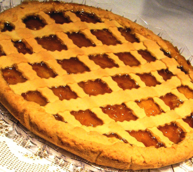 Crostata di marmellata di arance