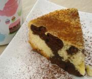 Torta cacao e vaniglia alle nocciole