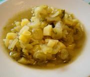 Minestra di sedano e patate