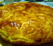 Rustico di pasta sfoglia al prosciutto e formaggio