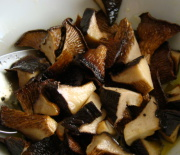 Funghi cardoncelli arrostiti